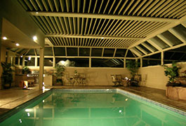 Auto Roof Above Swimming Pool