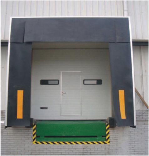 07-Industrial-Sectional-Door-with-Door-Leveller-and-Dock-Shelter