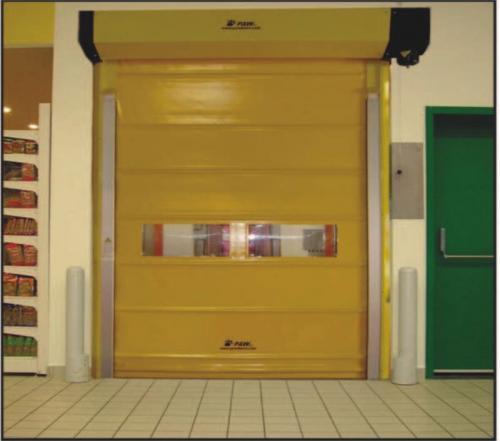 High Speed Roll Up Door, Swansan Plastic, Honda Goa.